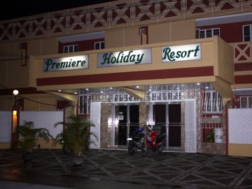 Nighttime Picture Of Premiere Hotel Balibago Angeles City Philippines